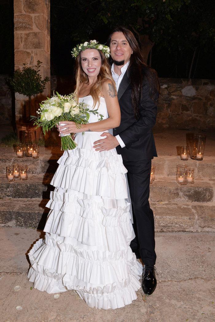 Ευρυδίκη: Ο γιος της με τον Θεοφάνους την πήγε νύφη στην εκκλησία
