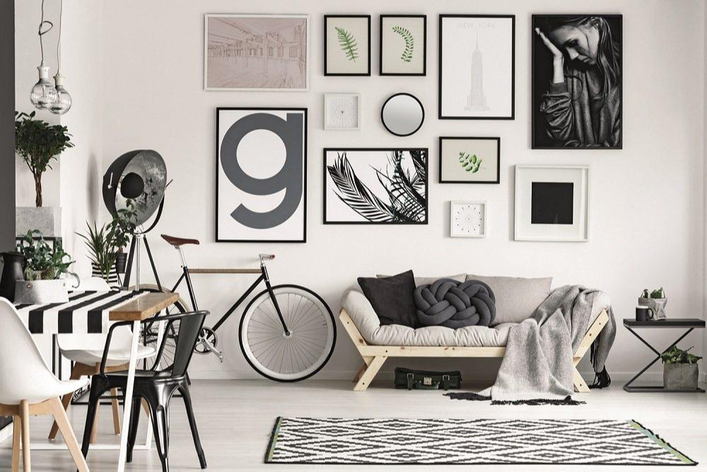 Σκανδιναβική διακόσμηση στο σαλόνι σας