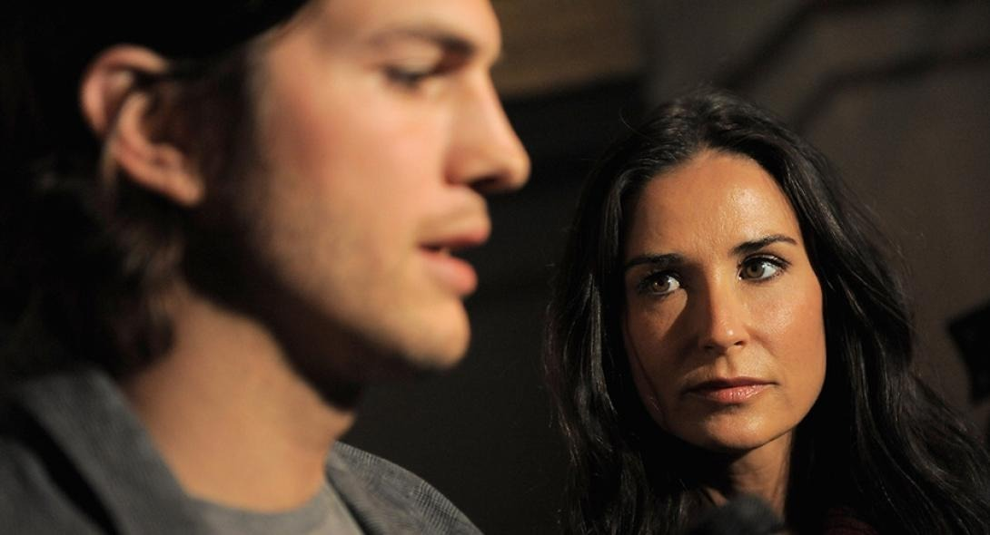 Ashton Kutcher-Demi Moore